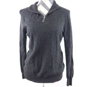 Tahari Pure Luxe Fitted Pullover 100% Cashmere